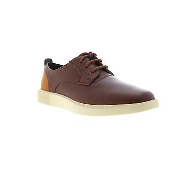 Camper Bill  Mens Brown Leather Casual Lace Up Oxfords Shoes