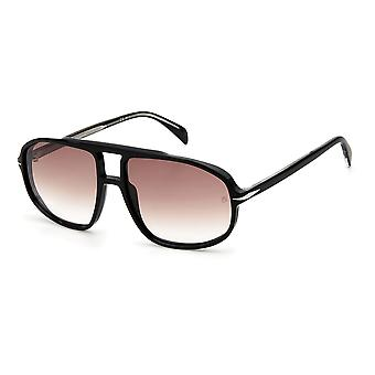 David Beckham DB1000/S 807/HA Black/Brown Gradient Sunglasses
