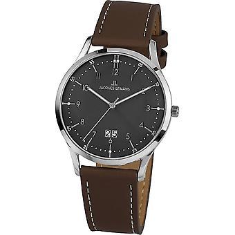 جاك ليمانس -- ساعة اليد -- الرجال -- ريترو كلاسيك -- -- 1-2066A