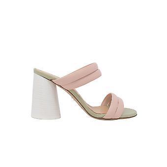 Halmanera Eva07 Women's Pink Leather Sandals
