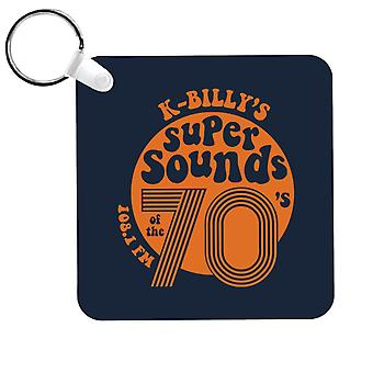 Reservoir Dogs K Billys Super Sounds Of The 70s Keyring