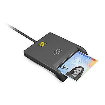 Elektronikus azonosítóolvasó 1LIFE 1IFECRCITIZEN USB 2.0 Fekete