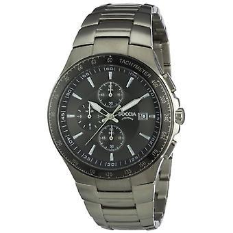 Boccia mens wristwatch Chronograph quartz titanium _ B3773-01