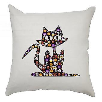 Emoji Cushion Cover 40cm x 40cm Cat 2