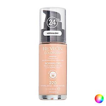 Fluid Foundation Make-up Colorstay Revlon/250 - Fresh Beige - 30 ml