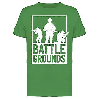 Battle Grounds Soldiers Men's T-shirt