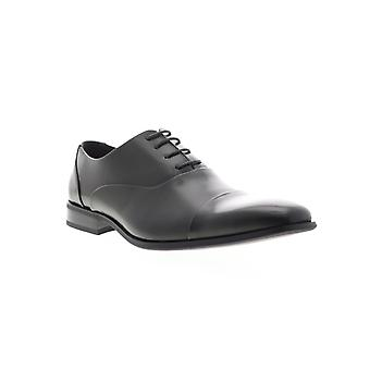 Unlisted by Kenneth Cole Stun Ner Mens Gray Leather Dress Lace Up Oxfords Shoes