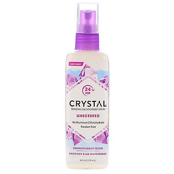 Kristall Deo Körperspray, hypoallergen, 4 oz