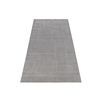 Rug SOFT 8031 RECTANGLES brown / beige