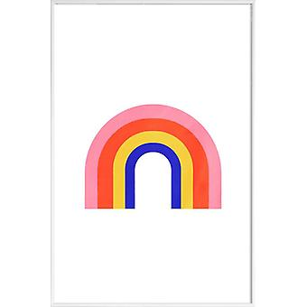 JUNIQE Print - Rainbow - Nursery & Art for Kids Poster in Colorful