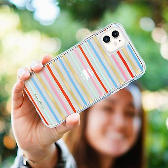Case for iPhone 11 - Happy Stripes- Rifle Paper- Case Mate, Multicolor
