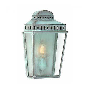Mansion House Wall Lamp, Verdigris