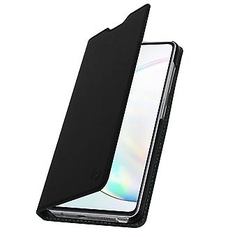 Protective Cover for Galaxy Note 10 Lite Case Folio video support Muvit Black
