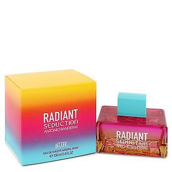 Radiant Seduction Blue Eau De Toilette Spray By Antonio Banderas 3.4 oz Eau De Toilette Spray