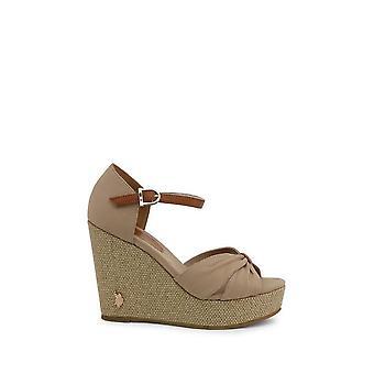 U.S. Polo Assn. - Shoes - Wedge pumps - AYLIN4171S0_CY1_BEI-CUO - ladies - tan - EU 39