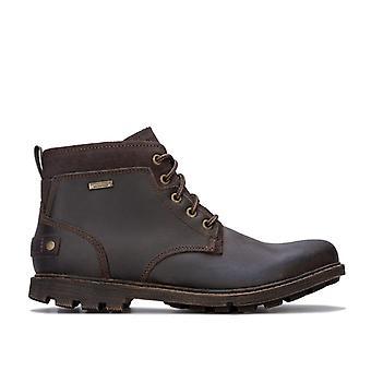 Men's Rockport Rugged Buck 2 Chukka Boots in Brown
