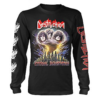 Destruction Eternal Devastation Longsleeve Officiel T-Shirt Unisex