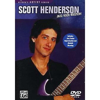 Scott Henderson - Jazz Rock Mastery [DVD] USA import
