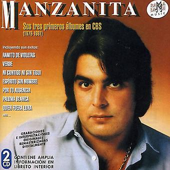 Manzanita - Sus Tres Primeros Albumes 1978-1981 [CD] USA import
