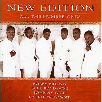 New Edition - All the Number Ones [CD] USA import