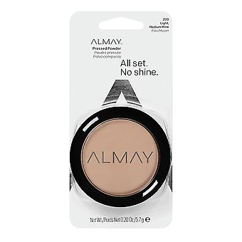 Almay Smart Shade Pressed Powder, Light/Medium 200 { 3 Pack }
