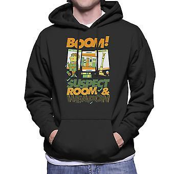 Hasbro Cluedo Boom Suspect Room Men's Hooded Sweatshirt