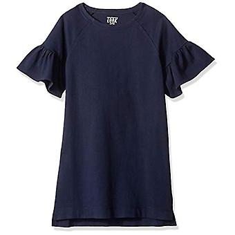 / J. Crew Brand- LOOK by Crewcuts Girls' Flare Sleeve Dress, Navy, Medi...