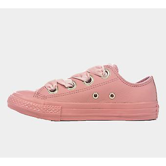 Converse Ctas Big Eyelets Ox 661877C Pink Women'S Shoes Boots