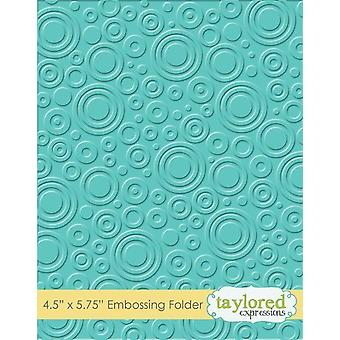 Taylored Expressions On The Spot Embossing Folder