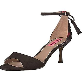 Betsey Johnson Womens Open Toe Special Occasion Ankle Strap Sandals