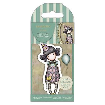Gorjuss Collectable Mini Rubber Stamp No.69 Pierrot