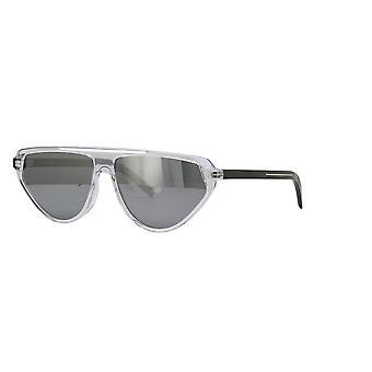 Dior Homme Blacktie247S 900/T4 Crystal/Grey-Silver Mirror Sunglasses
