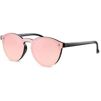 النظارات الشمسية المرأة البانتو الأسود / الوردي (CWI1640)