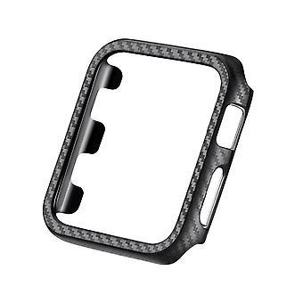 Für Apple Watch iWatch Series 6 SE 5 4 3 38/40/42/44mm Carbon Fibre Case Cover