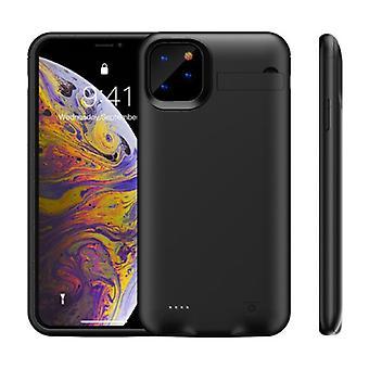 Stoff zertifiziert® iPhone 11 Powercase 6200mAh Powerbank Fall Ladegerät Batterie Abdeckung Fall schwarz