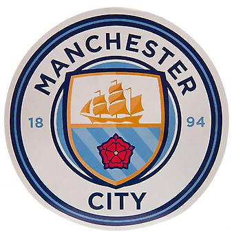 Manchester City FC Crest Stickers