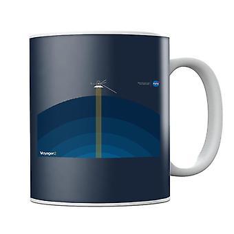 NASA Voyager2 Transmission Mug