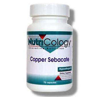 Nutricology/ Allergy Research Group Copper Sebacate, 75 Caps