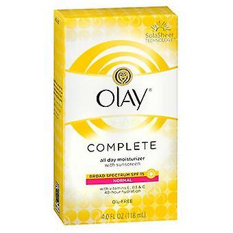 Olay Olay Complete All Day Uv Defense Moisture Lotion, 4 Oz