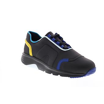 Camper TWS  Mens Black Leather Lace Up Euro Sneakers Shoes