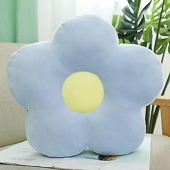Härlig, fräsch, färgglad blomma design mjuk fyllda kudde leksak (40cm)