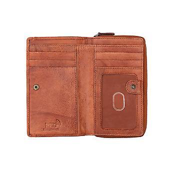 Primehide Grote Lederen Vrouwen Portemonnee RFID Blokkeren Card Wallet 3603 Dames
