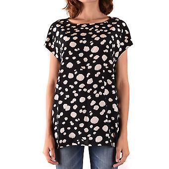Aspesi Ezbc067125 Frauen's Multicolor Seide Bluse