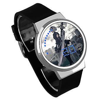 Waterdichte Lichtgevende LED Digital Touch Children horloge - YoRHa #21