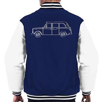 London Taxi Company TX4 Outline Men's Varsity Jacket
