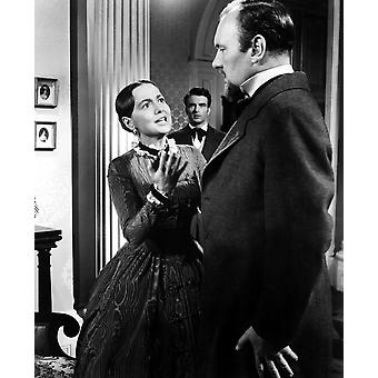 Det arvtagerska Olivia De Havilland Montgomery Clift Ralph Richardson 1949 Photo printet