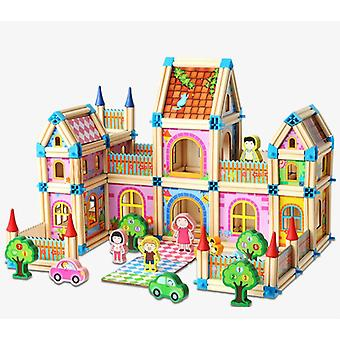 Wooden Building Blocks Intelligence Toy For 's