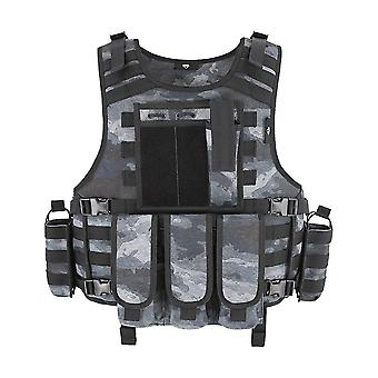 Molle Airsoft Tactical Vest, Plate Carrier, Swat Fishing, Hunting, Military