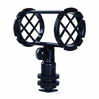 Movo smm1 kamera sko shockmount för hagelgevär mikrofoner 19-25mm i diameter (inklusive red ntg-1,