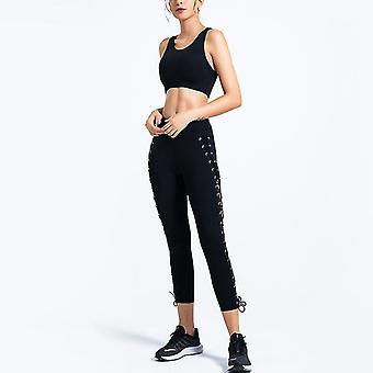 Ladies Slim Yoga Fitness Ruban Sports Suit YJ041